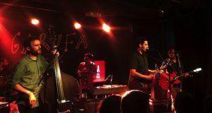 crónica concierto sala Garufa Coruña
