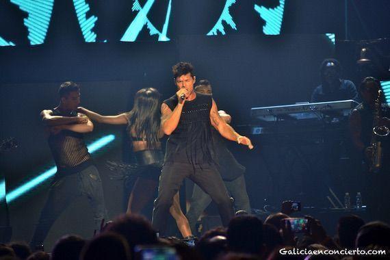 concierto Ricky Martin en Coruña