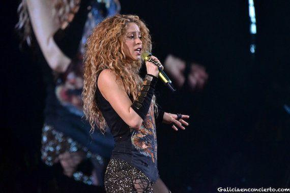 Shakira en A Coruña