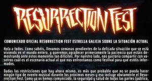 cancelación Resurrection Fest