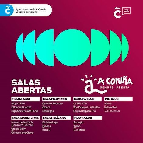 Salas Abertas Coruña