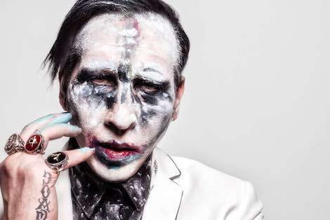 Marilyn Manson violación